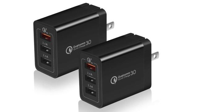 4. USINFLY 2-Pack 30W зарядное устройство