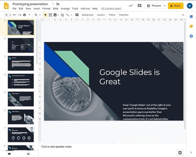 Google Slides - лучшие альтернативы Microsoft PowerPoint для совместной работы