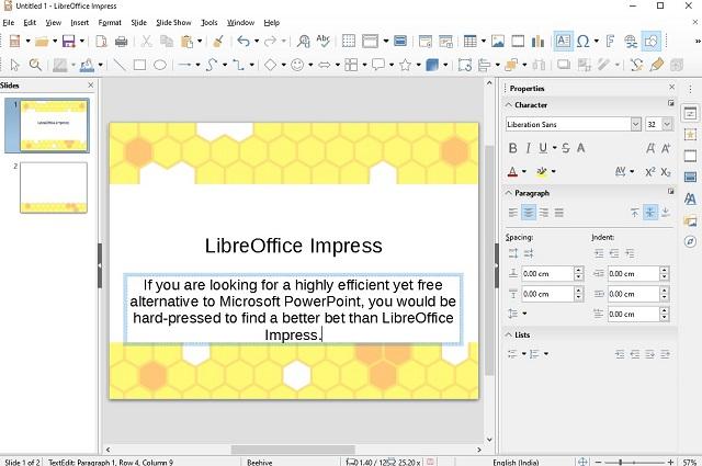 LibreOffice Impress - Лучшие бесплатные альтернативы Microsoft PowerPoint