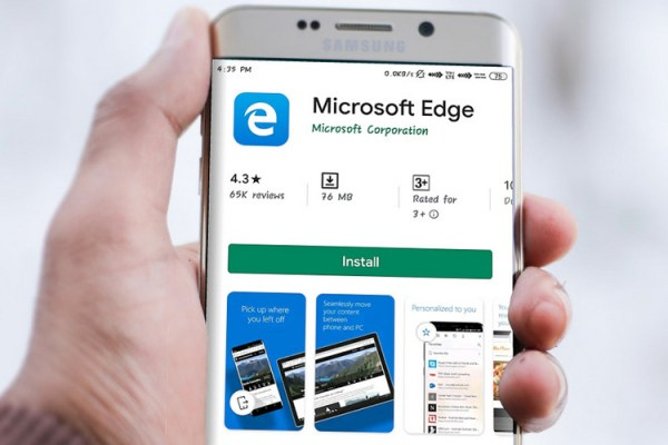 Microsoft Edge Now Supports Dark Mode on Android 10 | Beebom