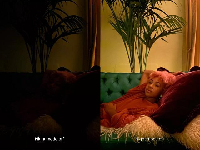 Ночной режим на iPhone 11 и 11 Pro