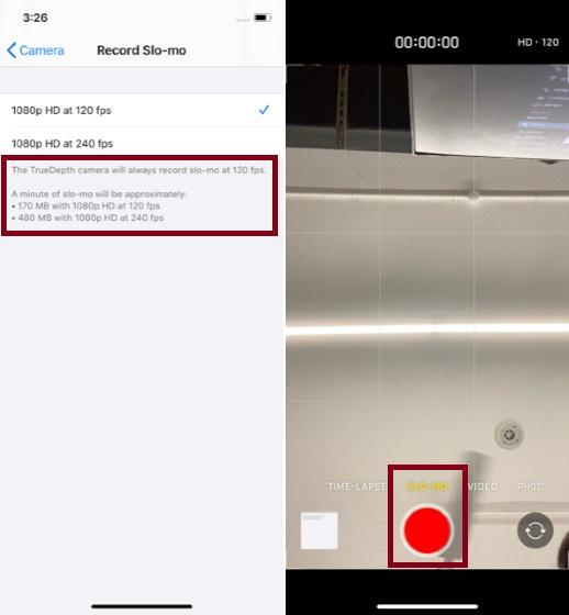 Slo-Mo Видео на iPhone 11