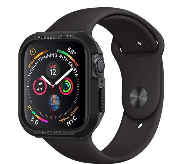Прочная броня Spgen для Apple Watch Series 5
