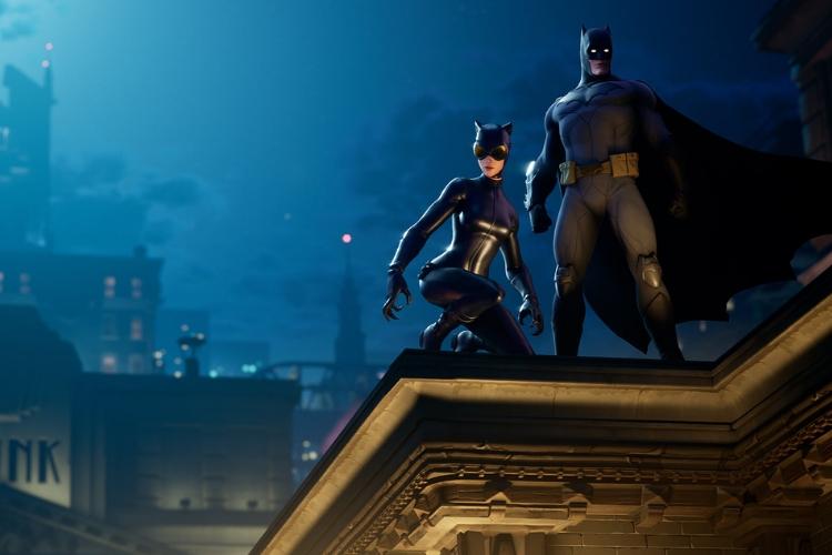 Бэтмен и Женщина-кошка скины