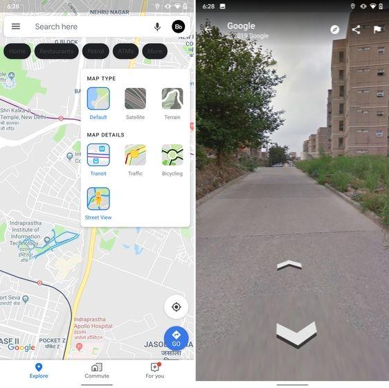 15. Street View Layer в Google Maps скрытые функции Android