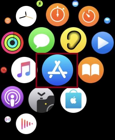 Inicie App Store en su Apple Watch