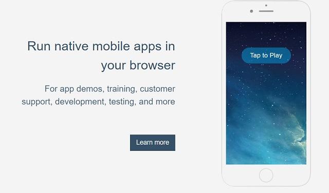 1. Appetize.io: лучшие эмуляторы iPhone