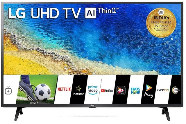 2. LG 4K Smart LED TV 43UM7290PTF