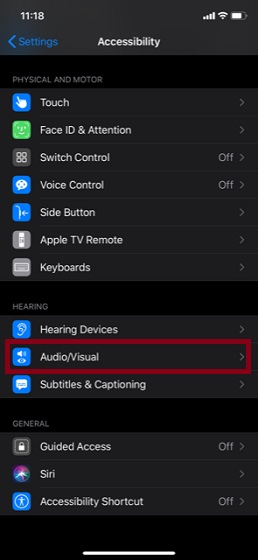 Выберите аудио и видео вариант