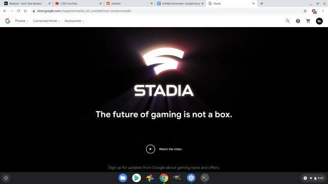 Google Stadia Что такое Chromebook Все, что вам нужно знать 10