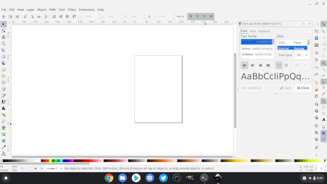 4. Inkscape Лучшие приложения для Linux на Chromebook