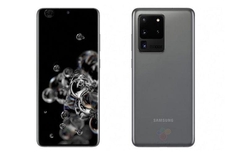 Galaxy S20 Ultra - تسريب سعر جالاكسي S20 بإصداراته المختلفة مع الصور الرسمية والألوان