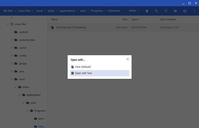 Cómo usar aplicaciones de Windows 10 en Chromebook usando Wine 1