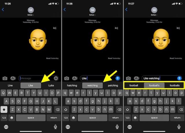 Как использовать QuickPath-на-iOS-13
