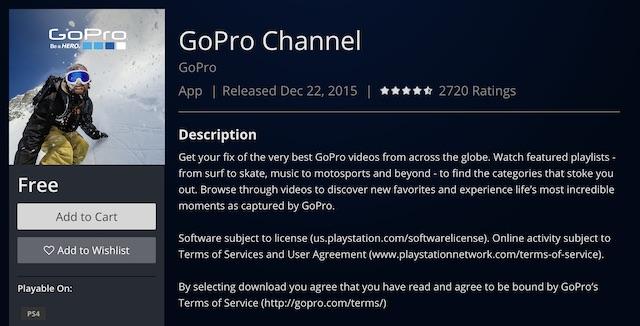 Канал GoPro