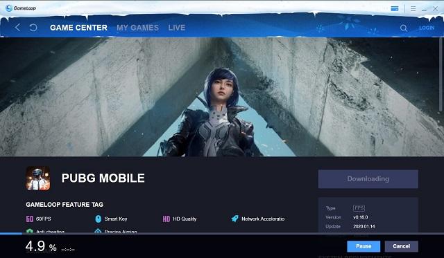 Juega PUBG Mobile en PC Gameloop Emulator 3