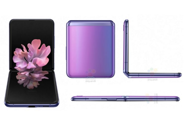 Samsung Galaxy Z Flip θύρες και σχεδιασμός
