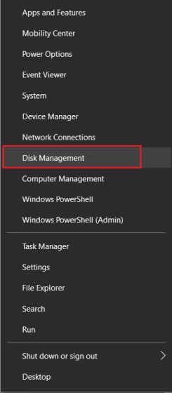 Extend C Drive Space on Windows 10 Natively