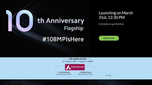 mi 10 event page
