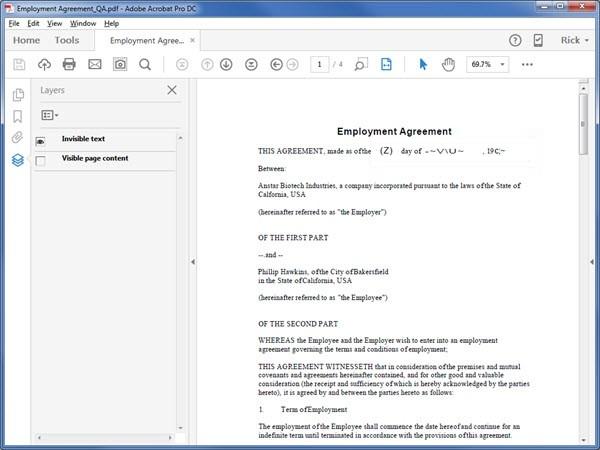 2. Adobe Acrobat Pro DC Лучшее программное обеспечение для распознавания текста