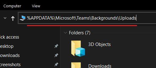 Загрузить пользовательский фон в командах Microsoft