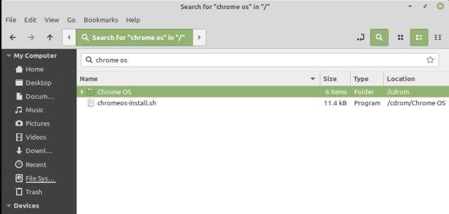 Instalar Chrome OS