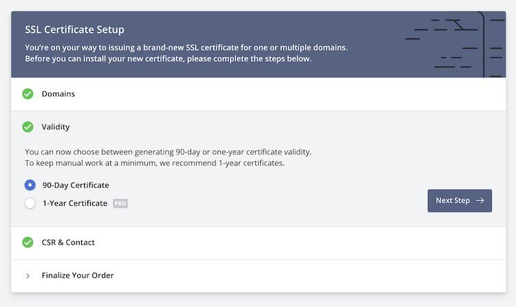 ZeroSSL - Генерация SSL-сертификата 3
