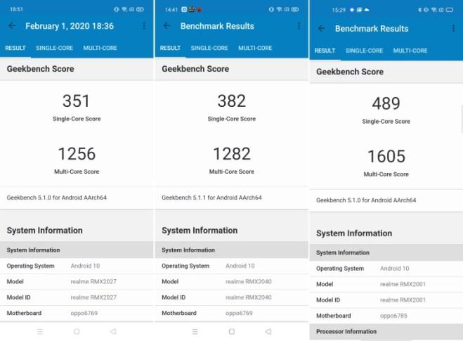 MediaTek Helio G70 против Helio G80 против Helio G90T: оценка Geekbench