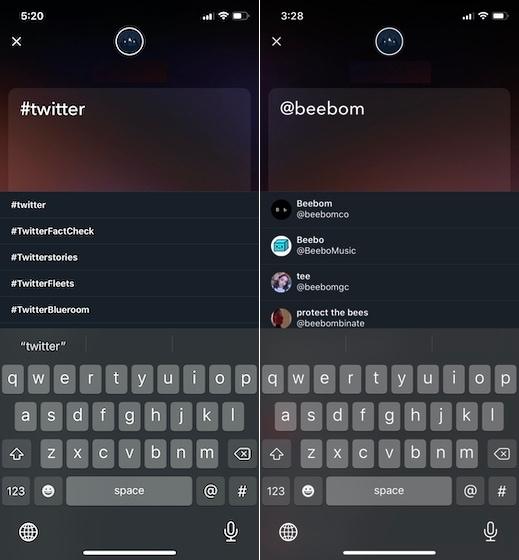 Как создать Twitter Fleets 3