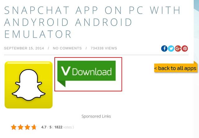 Instalar Snapchat en PC