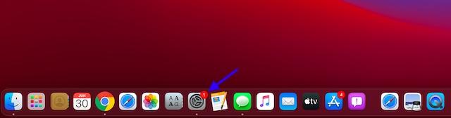 Abrir Preferencias del sistema en Mac