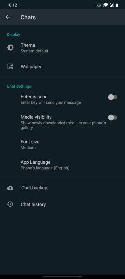 Особенности WhatsApp