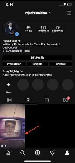 Accede a tus carretes de Instagram