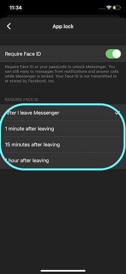 Выберите предпочтительный вариант блокировки мессенджера Facebook
