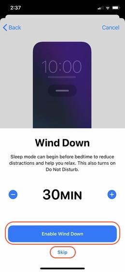 Configure el seguimiento del sueño en su iPhone 8