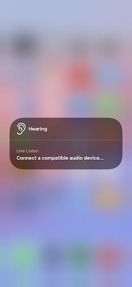 comprobar los niveles de audio en directo