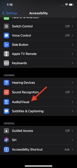 Выберите аудио и видео