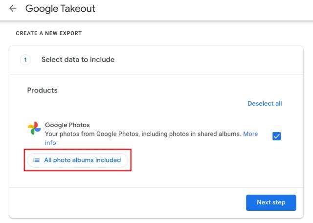 Экспорт Google Фото в OneDrive и Flickr