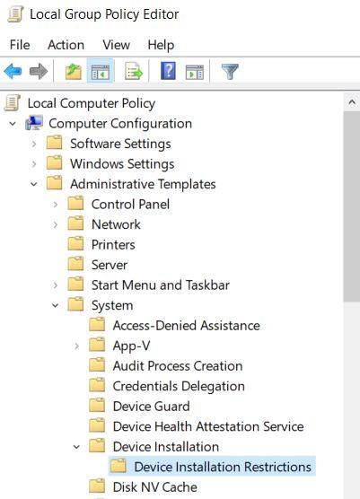 Deshabilitar el teclado de una computadora portátil en Windows 10