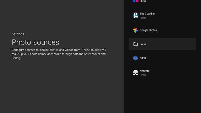 Установите Google Фото в качестве заставки на Android TV
