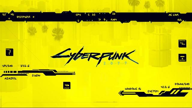 Cyberpunk 2077 скин
