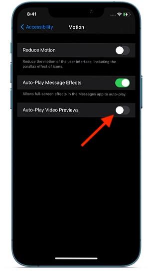 Отключить автоматическое воспроизведение видео в Safari