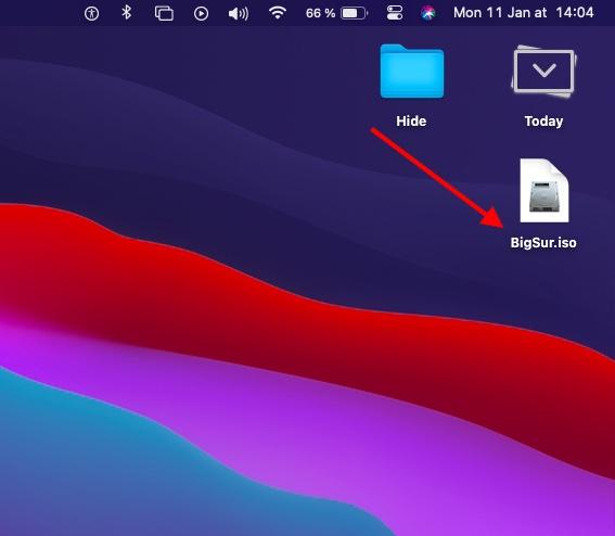 Как создать ISO-файл MacOS Big Sur