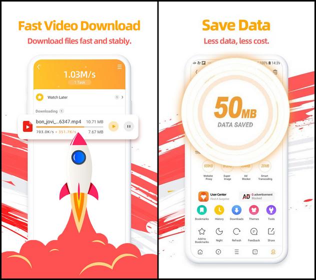 Самые опасные приложения для Android UC Browser