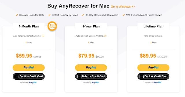 Цена и доступность для Mac