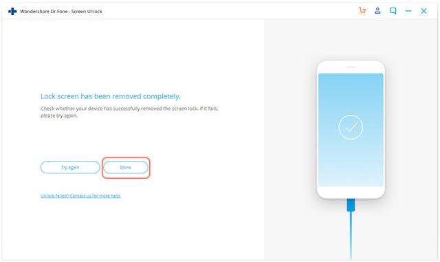 Шаги по разблокировке и восстановлению заблокированных iOS-устройств с помощью Dr.Fone 8