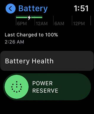 параметры состояния батареи, часы