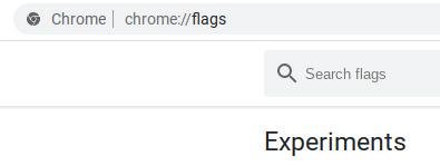 перейти к хромированным флагам в Chromebook
