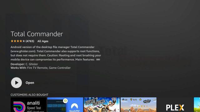 приложение Total Commander