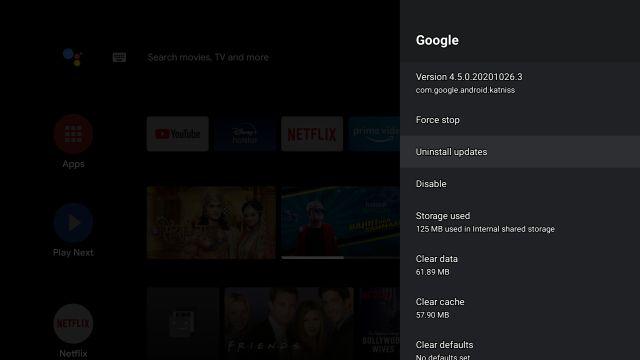 Android TV не отображается в Google Home